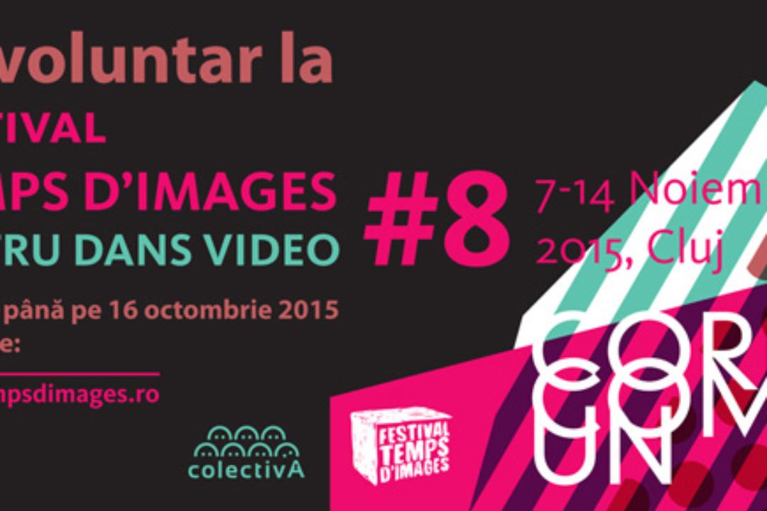 Fii voluntar la Festivalul Temps d'Images!