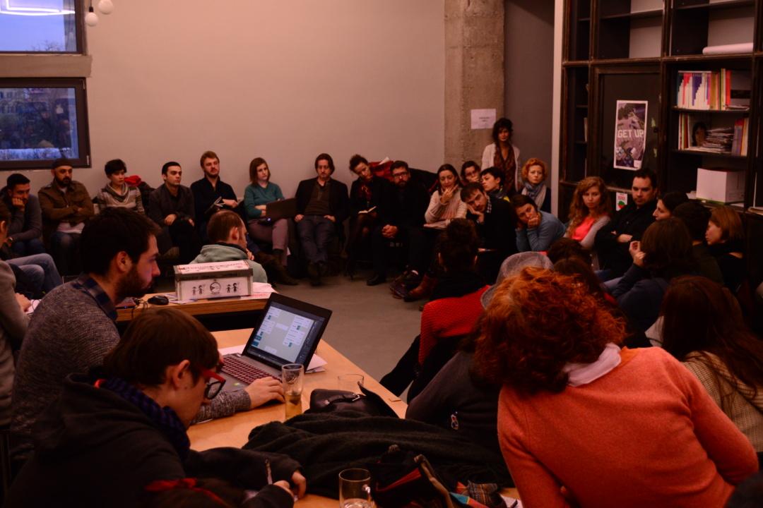 Întâlnire artiști independenți români și invitați străini