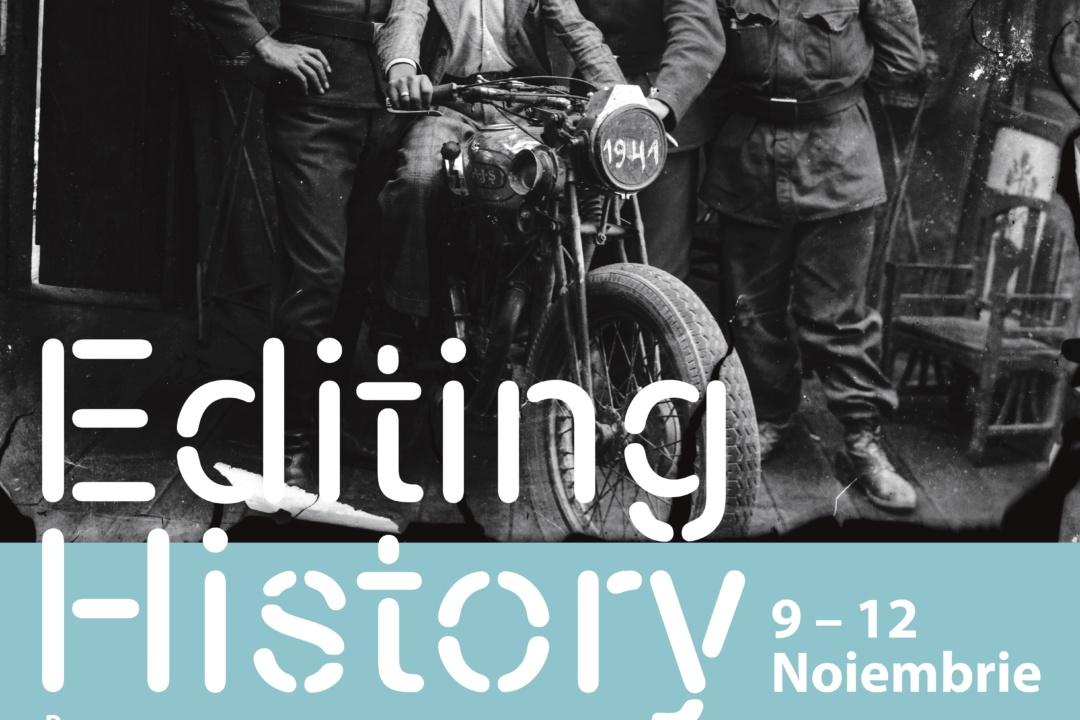 Editing History – proiect recomandat de Temps d'Images
